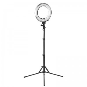 "Lampa pierścieniowa RING Light fluorescent 12"" 35W + statyw"