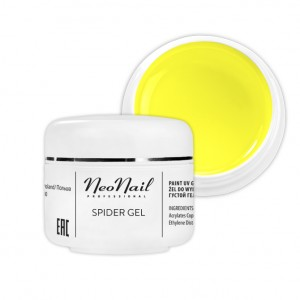 NeoNail Spider Gel 5 ml - Neon Yellow