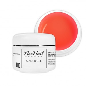 NeoNail Spider Gel 5 ml - Neon Orange