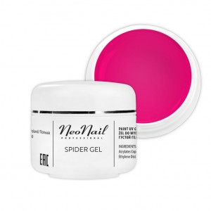 NeoNail Spider Gel 5 ml - Neon Pink