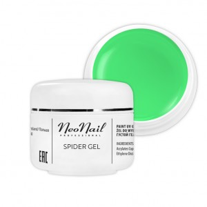 NeoNail Spider Gel 5 ml - Neon Green