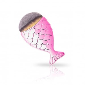 Pędzelek rybka Mermaid Brush  PINK