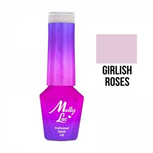 Molly Lac Lakier hybrydowy Girlis Roses 5 ml 02