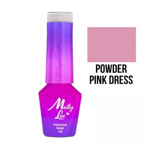 Molly Lac Lakier hybrydowy Powder Pink Dress 5 ml 03