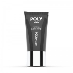 POLYsystem in tube - Natural Light Pink - 30ml akrylożel
